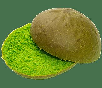 Briochebol groen 80g