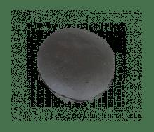 Mini briochebol zwart 35g